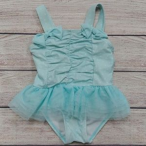 Koala Kids Blue Tutu Bathing Suit